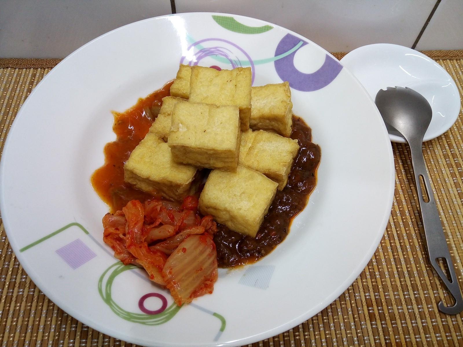 [氣炸鍋/懶人/素食] 烤油豆腐
