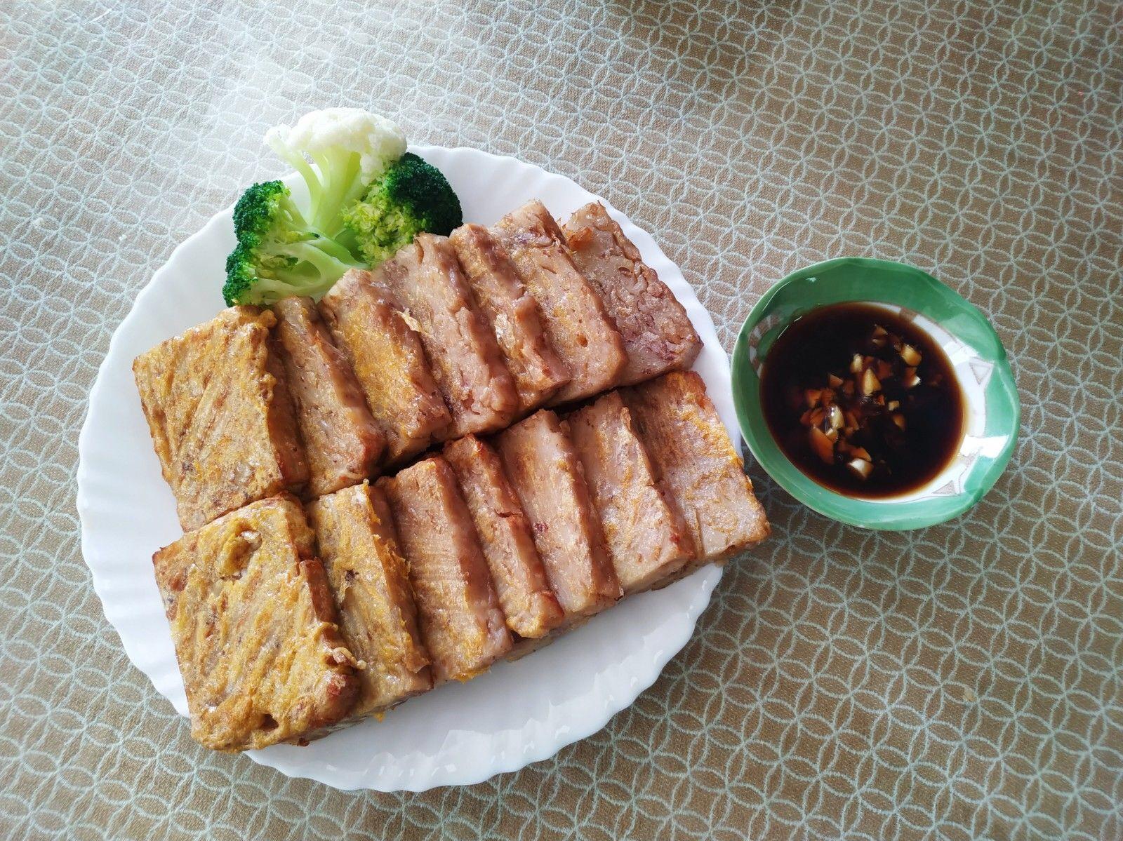 飛利浦氣炸鍋料理:蛋香芋頭粿