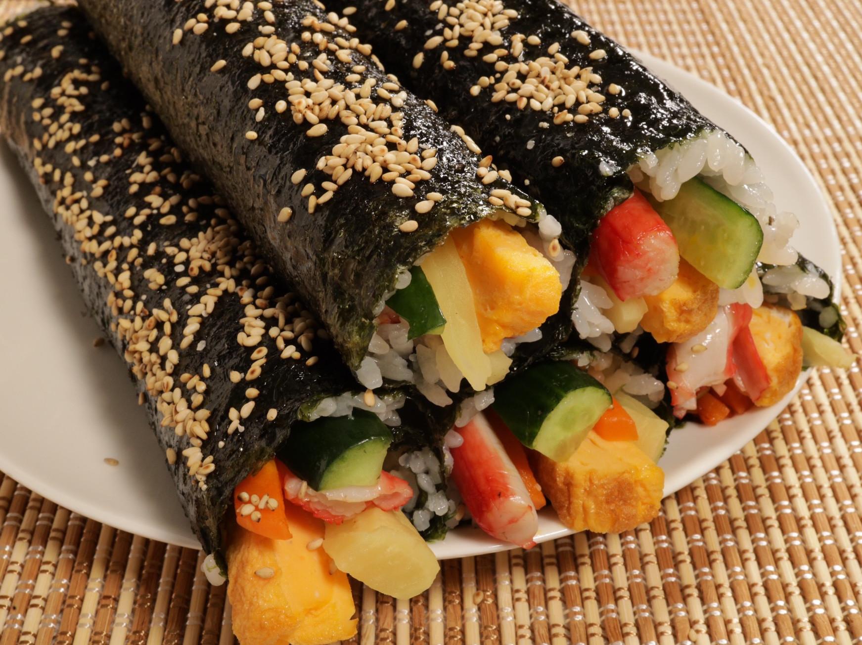 簡單韓式紫菜包飯 | Kimbap