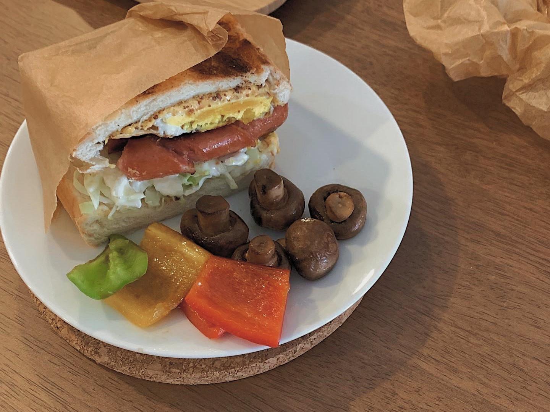 德州香腸三明治