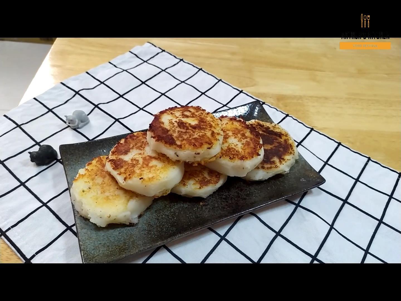起司馬鈴薯煎餅~奶素