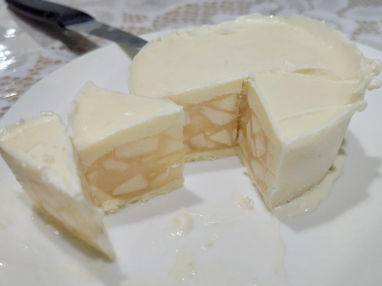 蘋果白巧克力慕斯