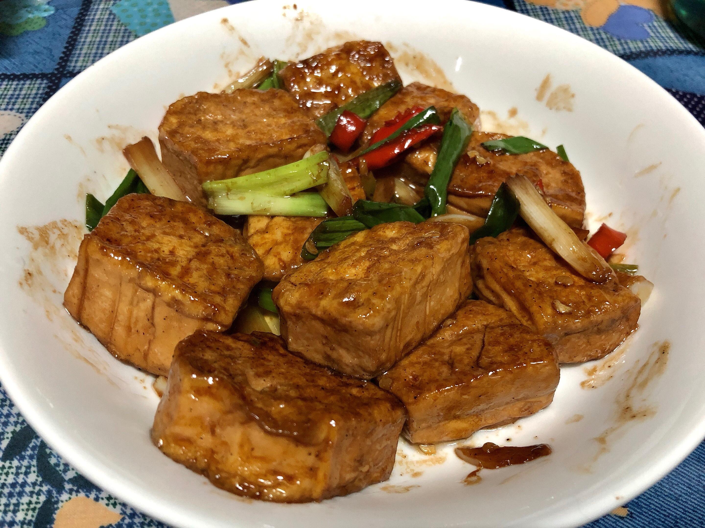 素紅燒豆腐