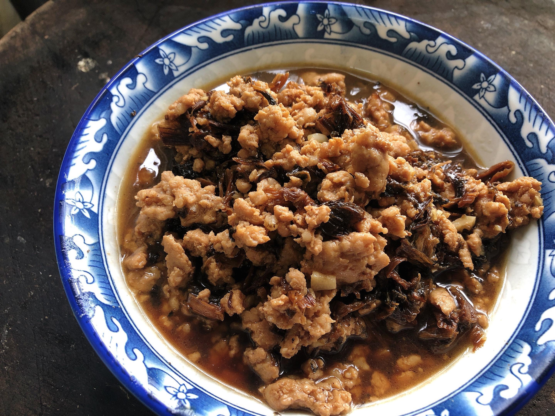 超下飯:梅乾菜炒肉末