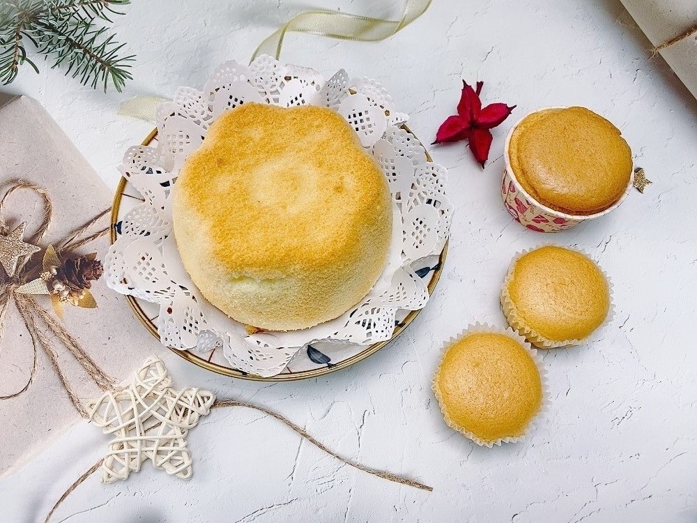 古早味優格蛋糕/自製寶寶週歲蛋糕