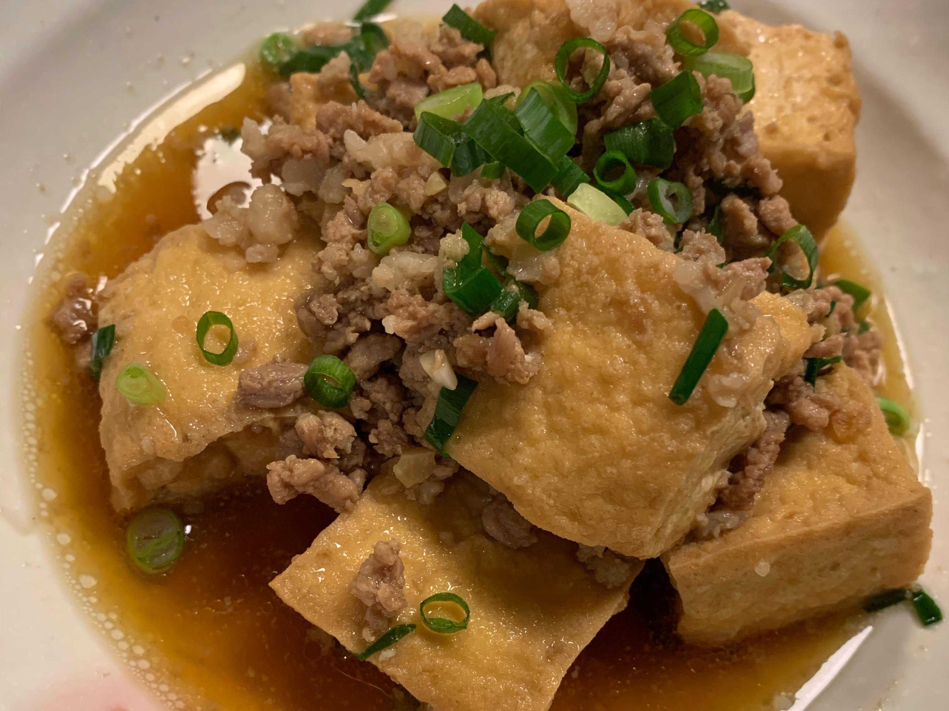 肉燥油豆腐