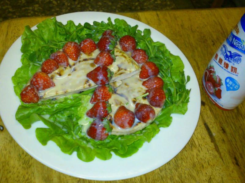 <草莓就愛鷹牌煉奶>莓戀烤餅派