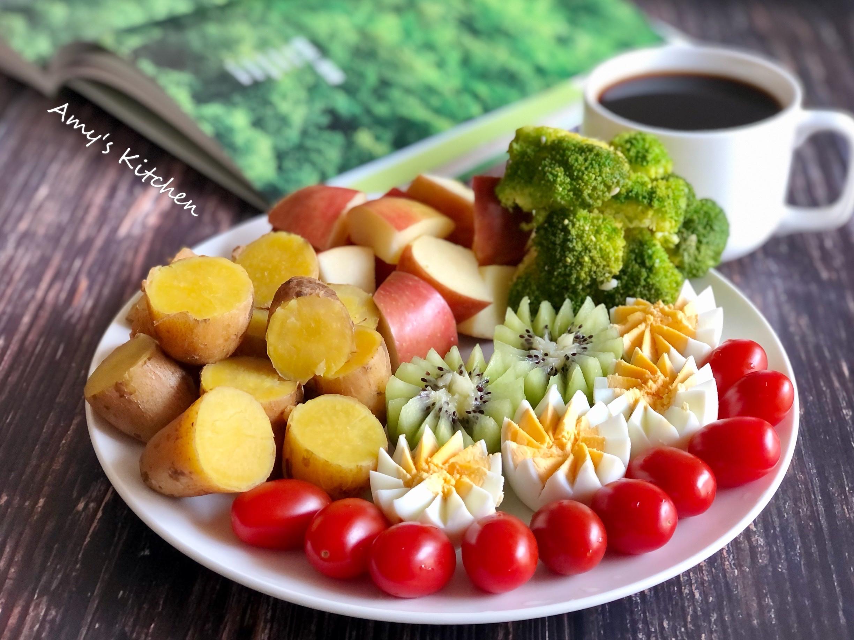 健康早餐  蒸地瓜