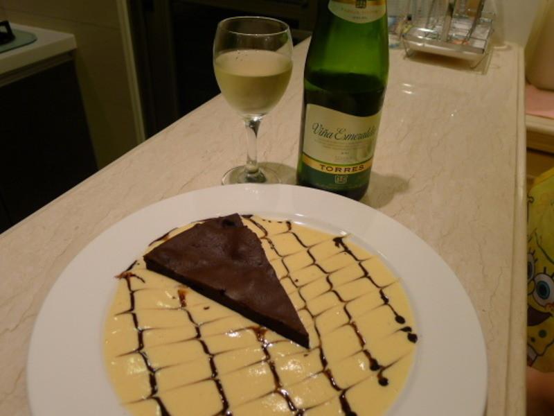 巧克力蛋糕 (Torta Di Cioccolato)