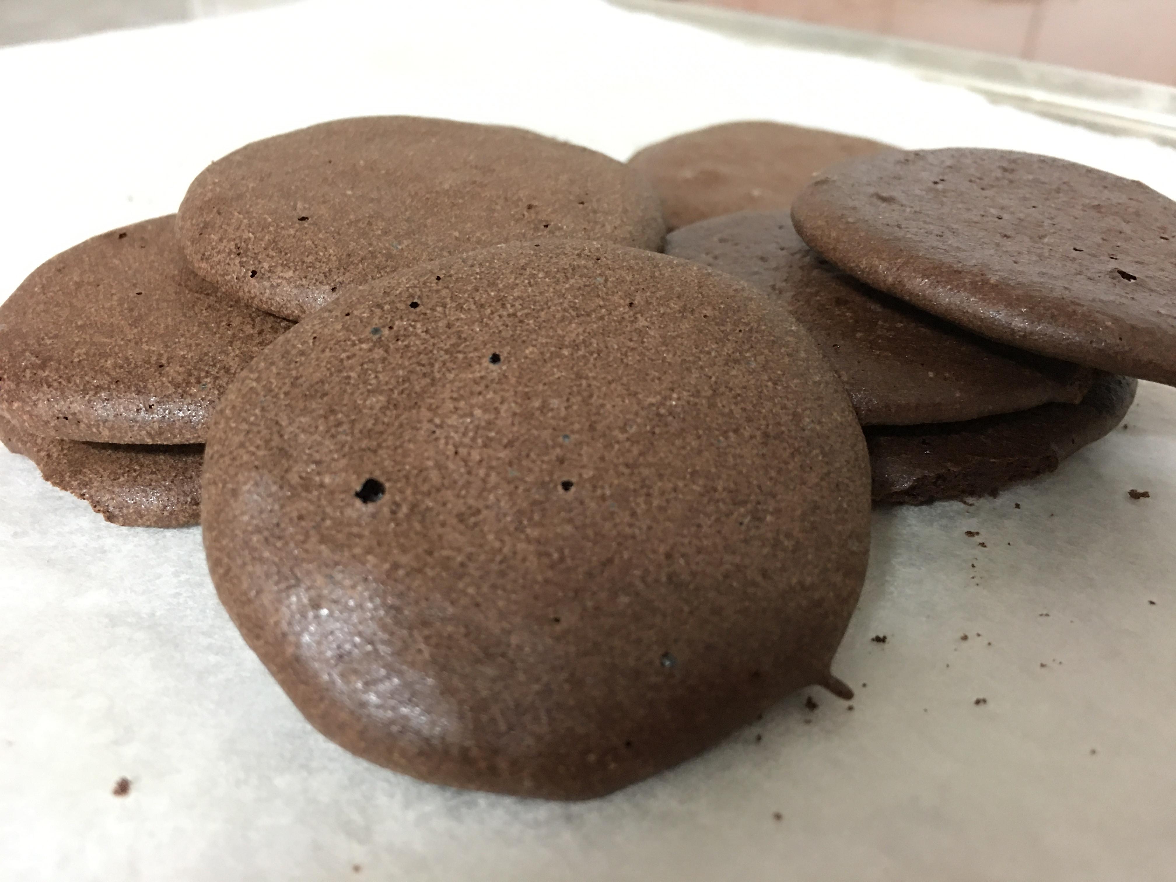 3種材料黑巧克力脆餅