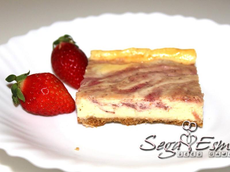《草莓就愛鷹牌煉奶》香濃好滋味草莓起士蛋糕