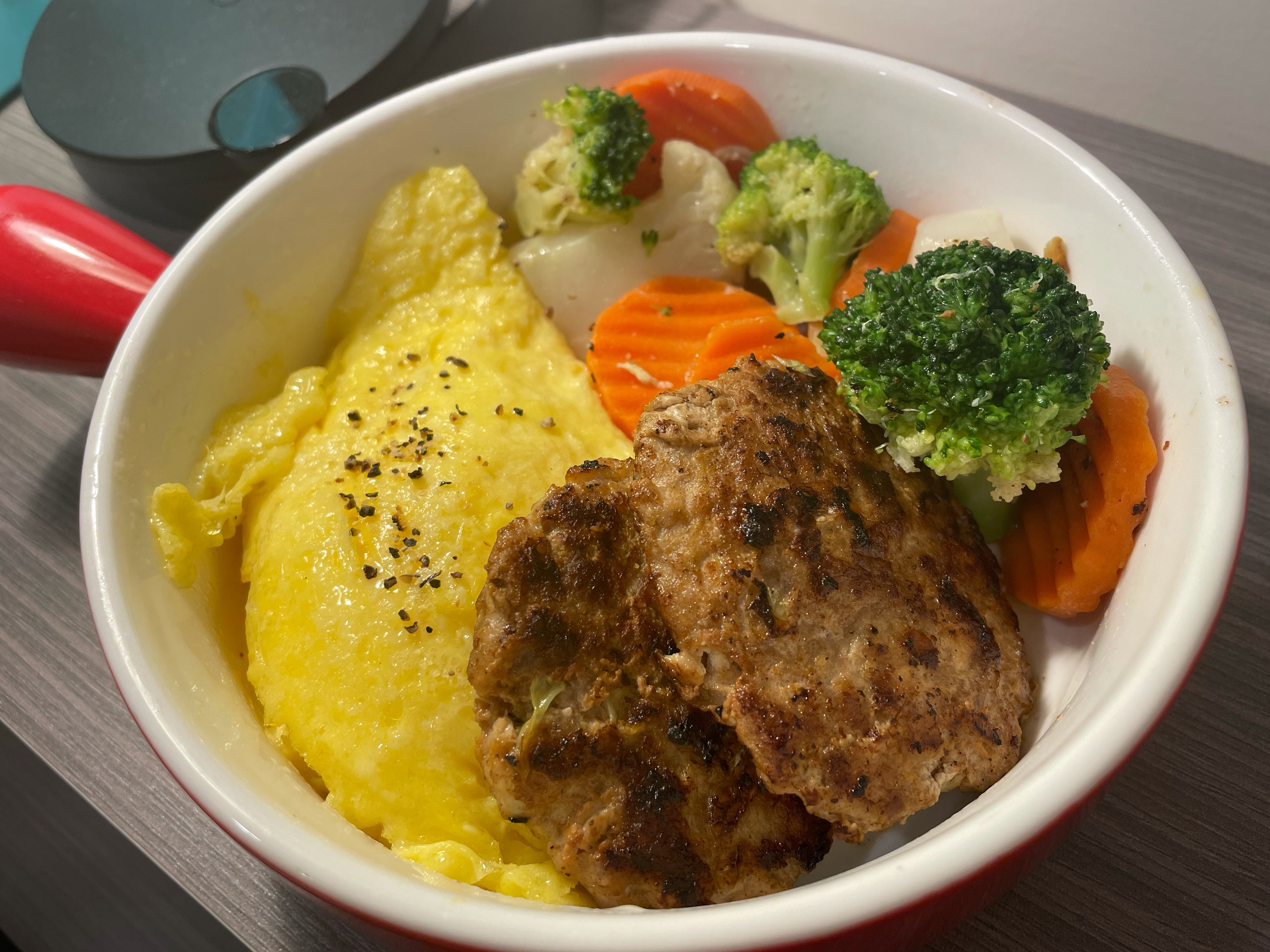 蔬菜豆腐豬肉排