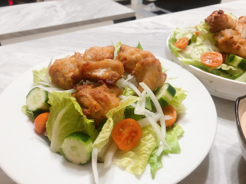 唐揚雞沙拉🥗