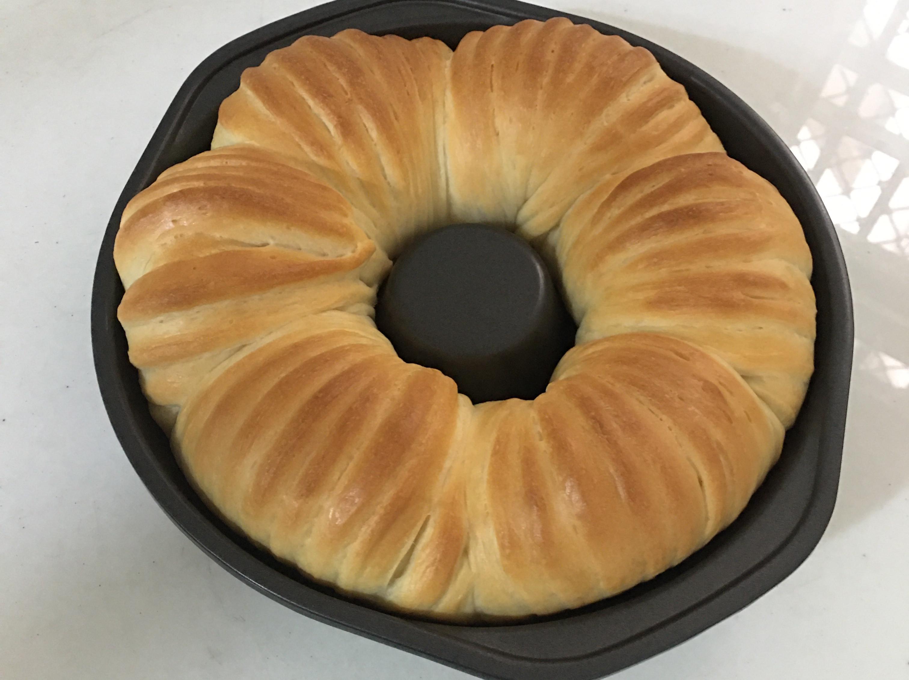 花生醬乳酪毛線球麵包