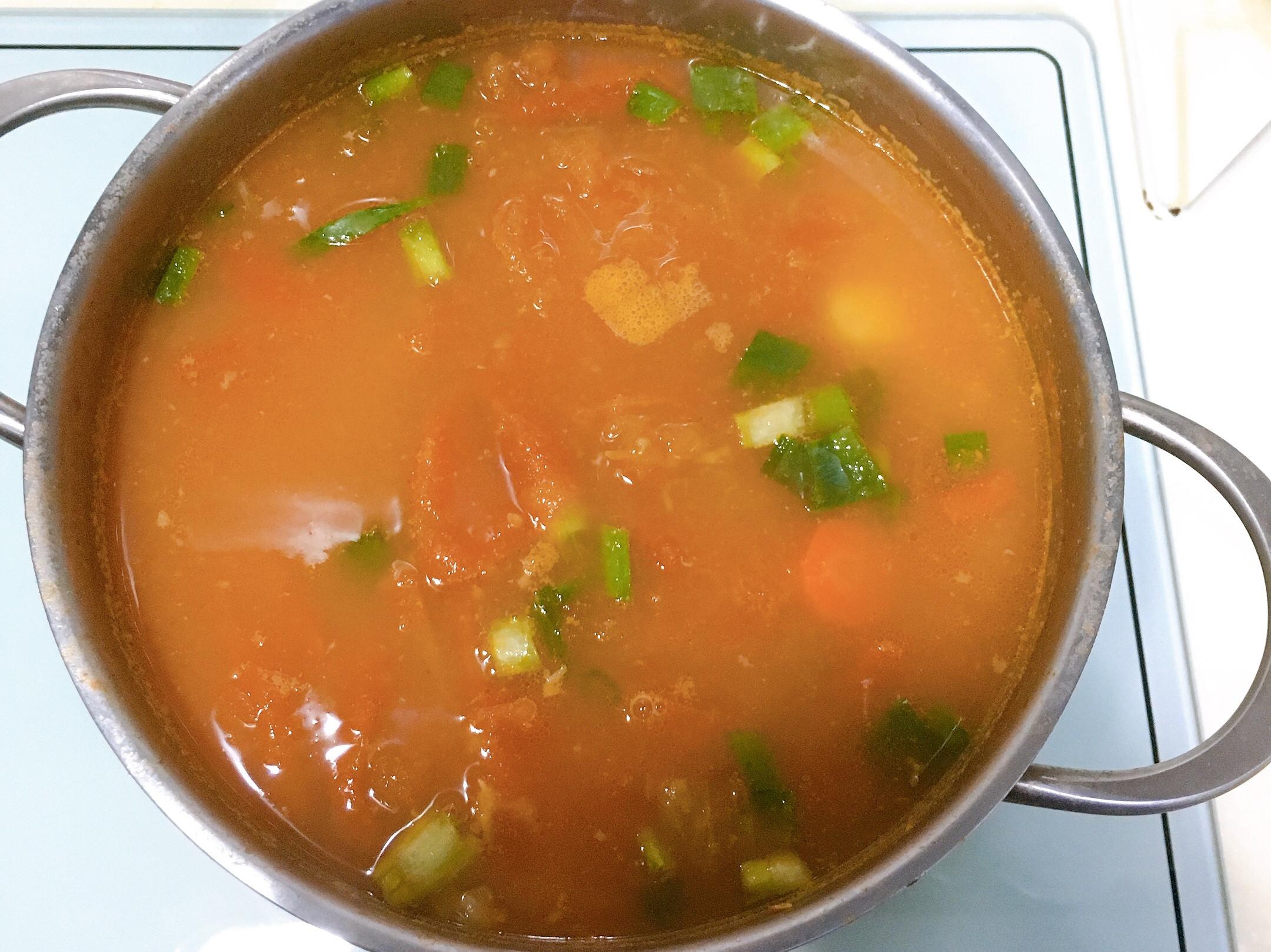 蕃茄排骨湯