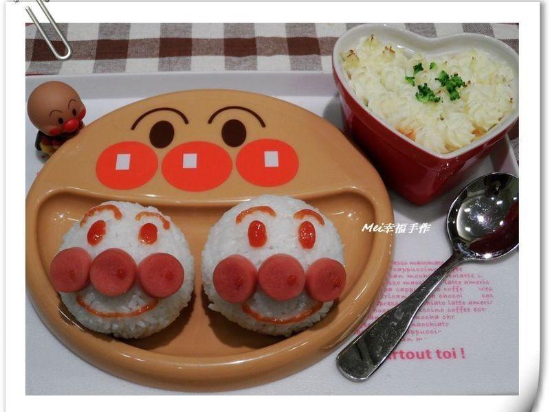 【親子食堂】麵包超人飯糰