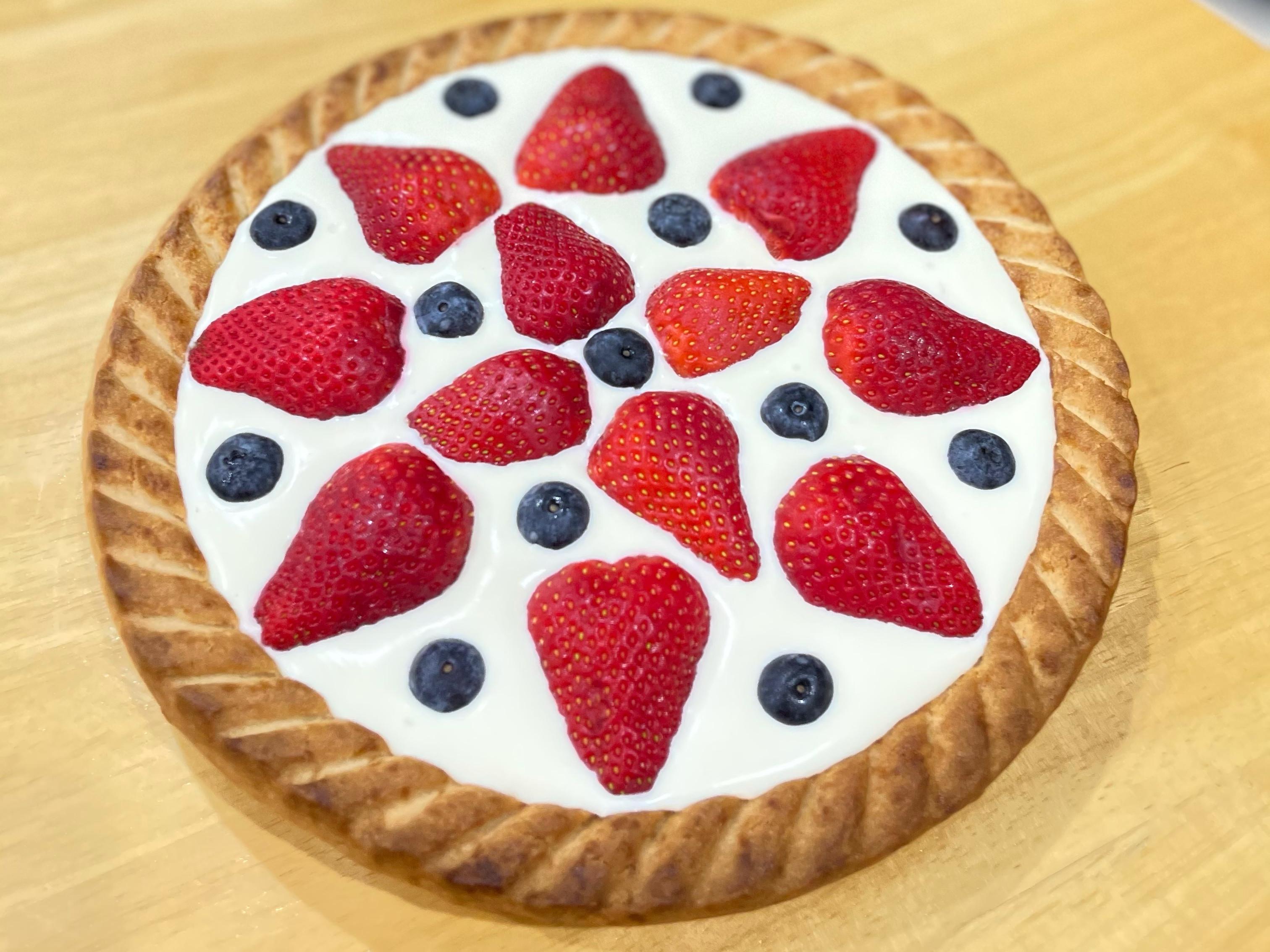 莓果優格生乳酪塔