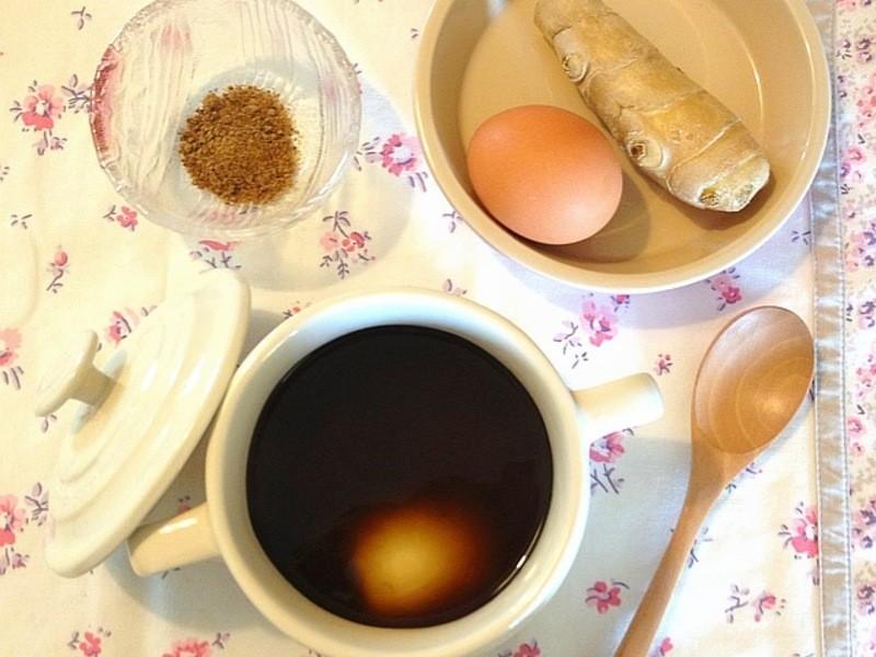 【妮小娜隨性煮】薑汁黑糖蛋