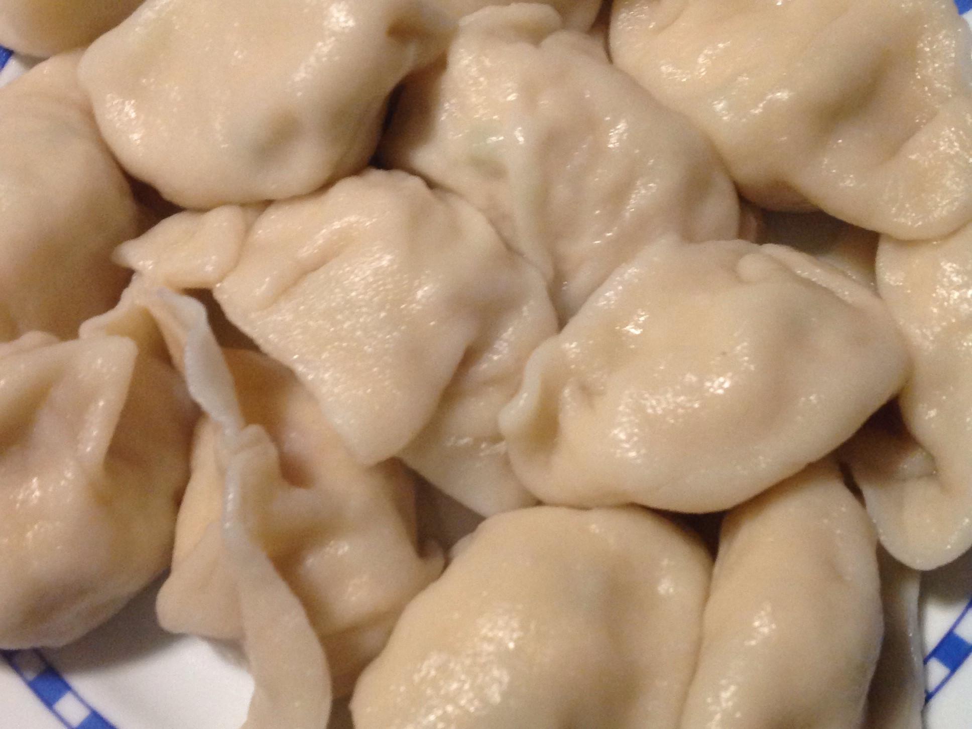 蘿蔔絲豆腐雞肉手工水餃