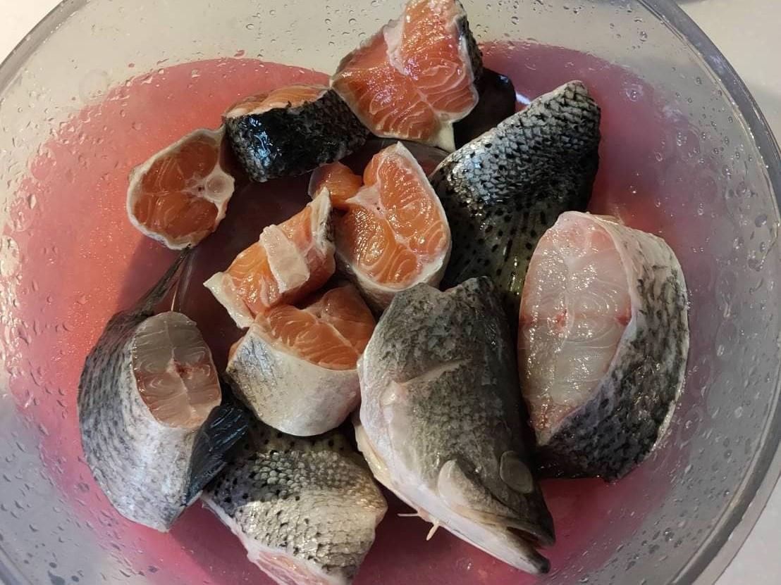味噌鮭魚頭湯/味噌鮭魚湯