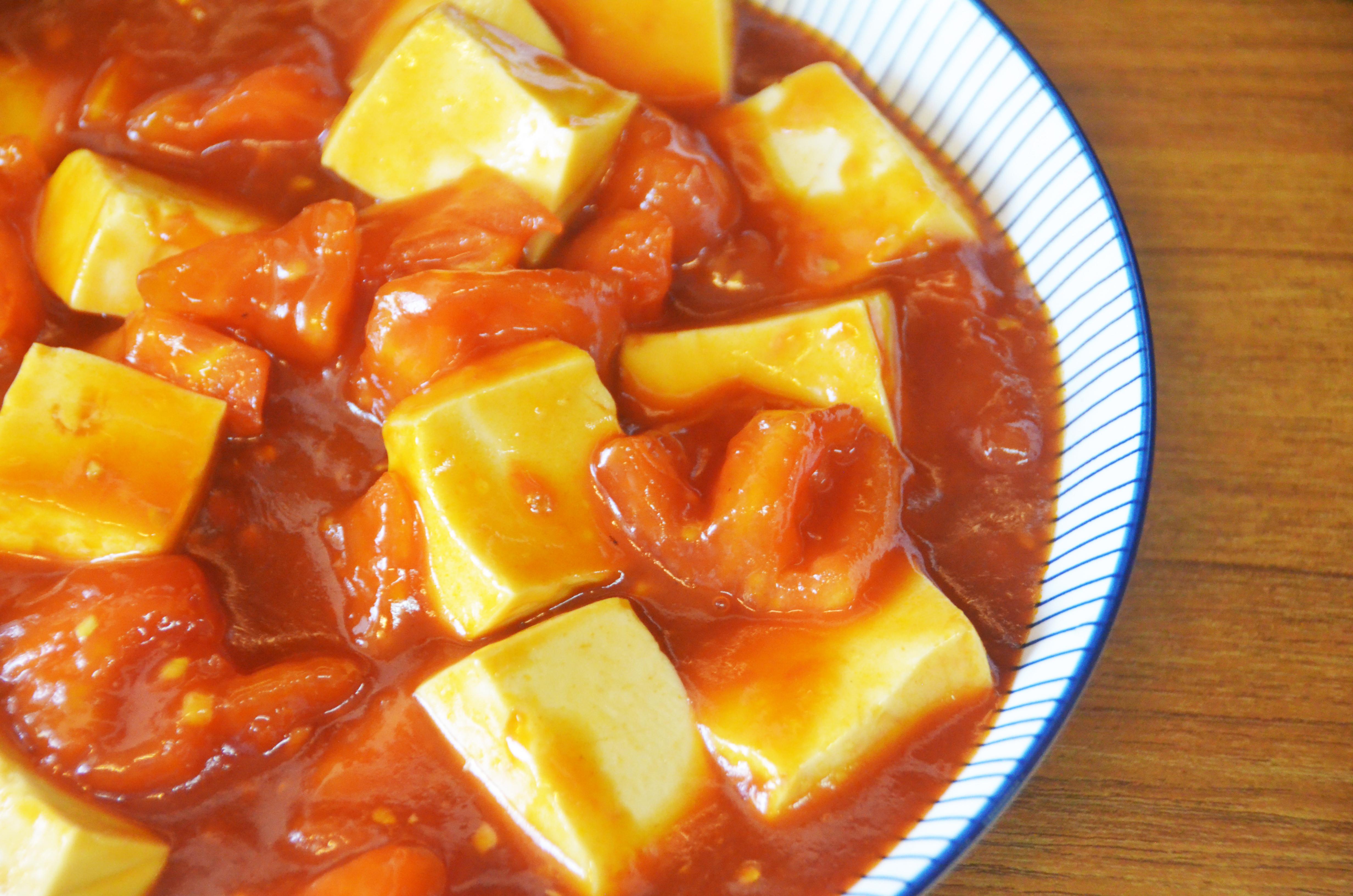 番茄燴豆腐*萍姊