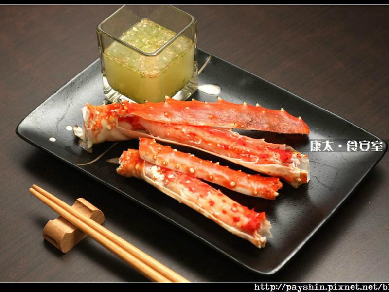 【北海道直送水產】清蒸帝王蟹腳佐檸檬蜜薑汁