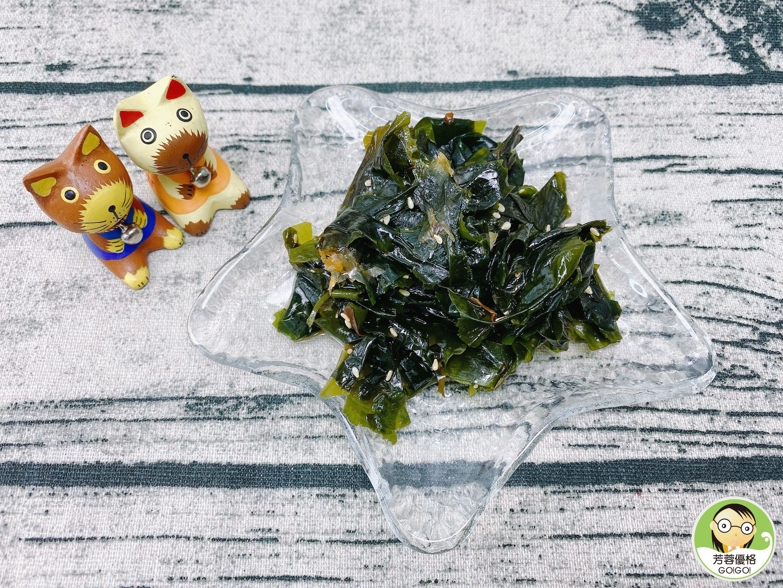 簡單料理~涼拌果醋海帶芽