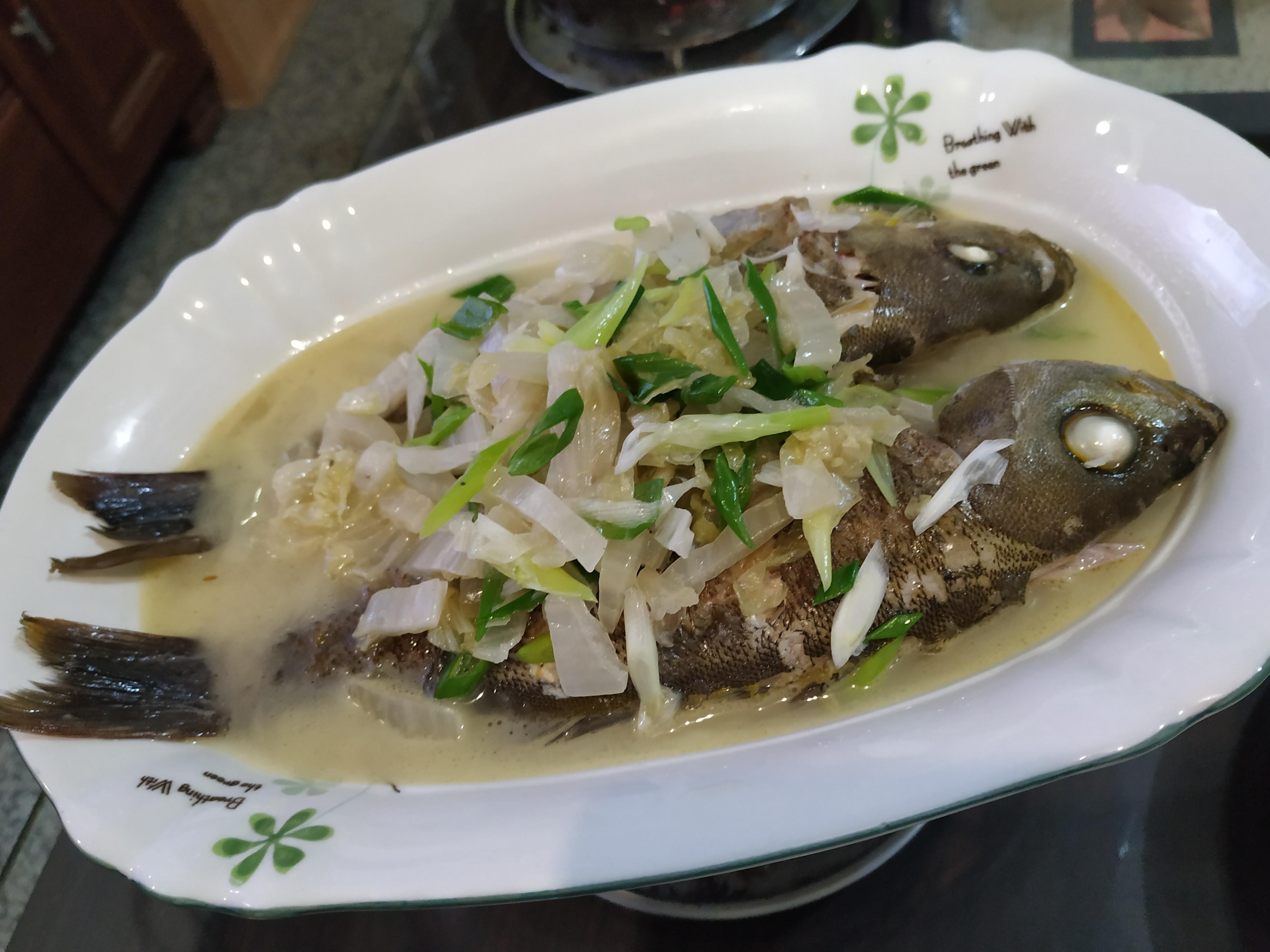 酸白菜燒魚