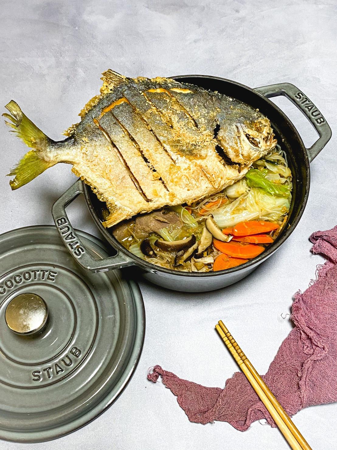 台式鯧魚米粉湯