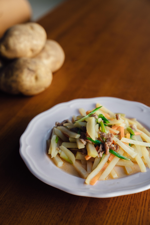 馬鈴薯炒肉絲