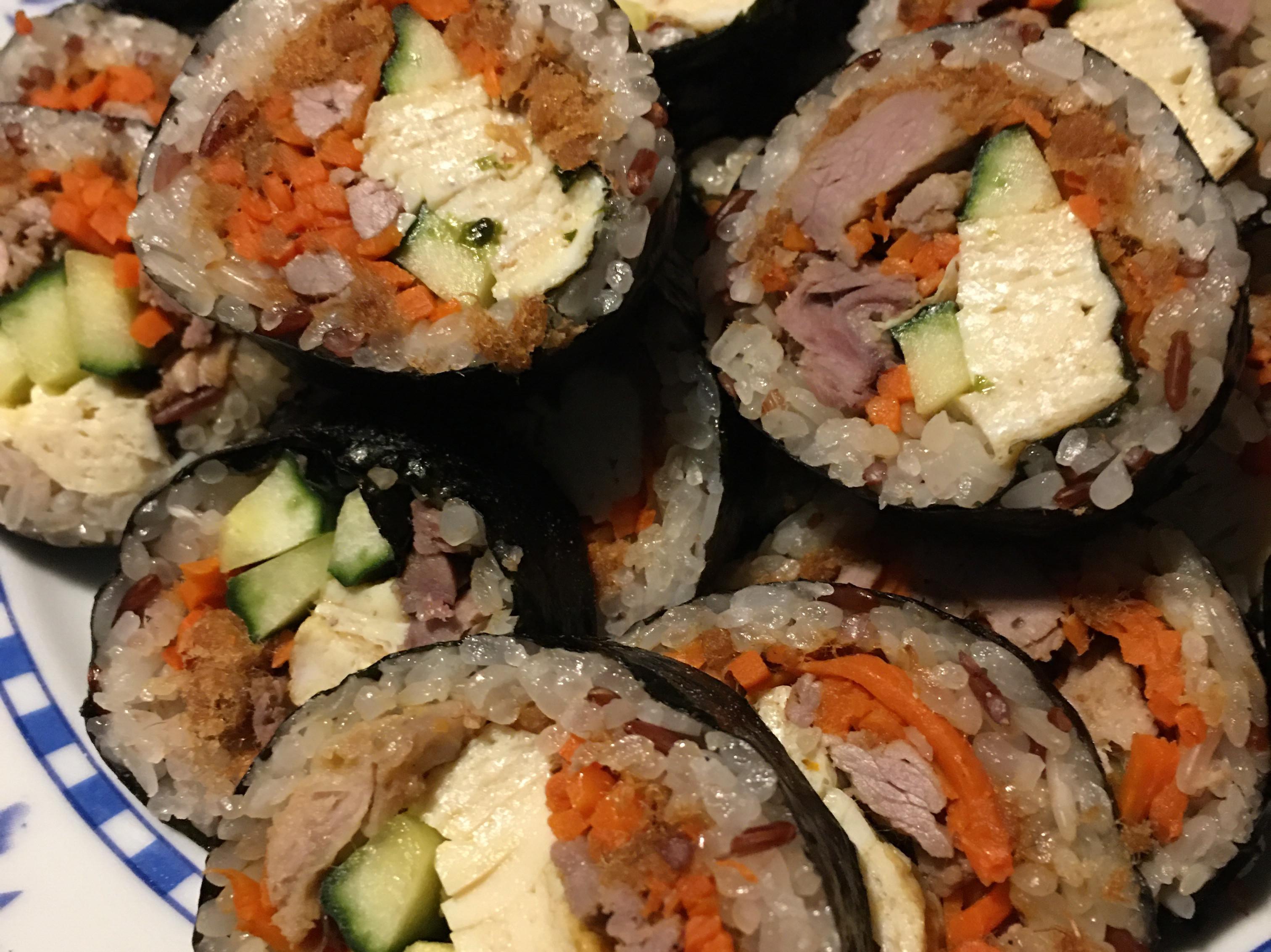 簡易的壽司捲