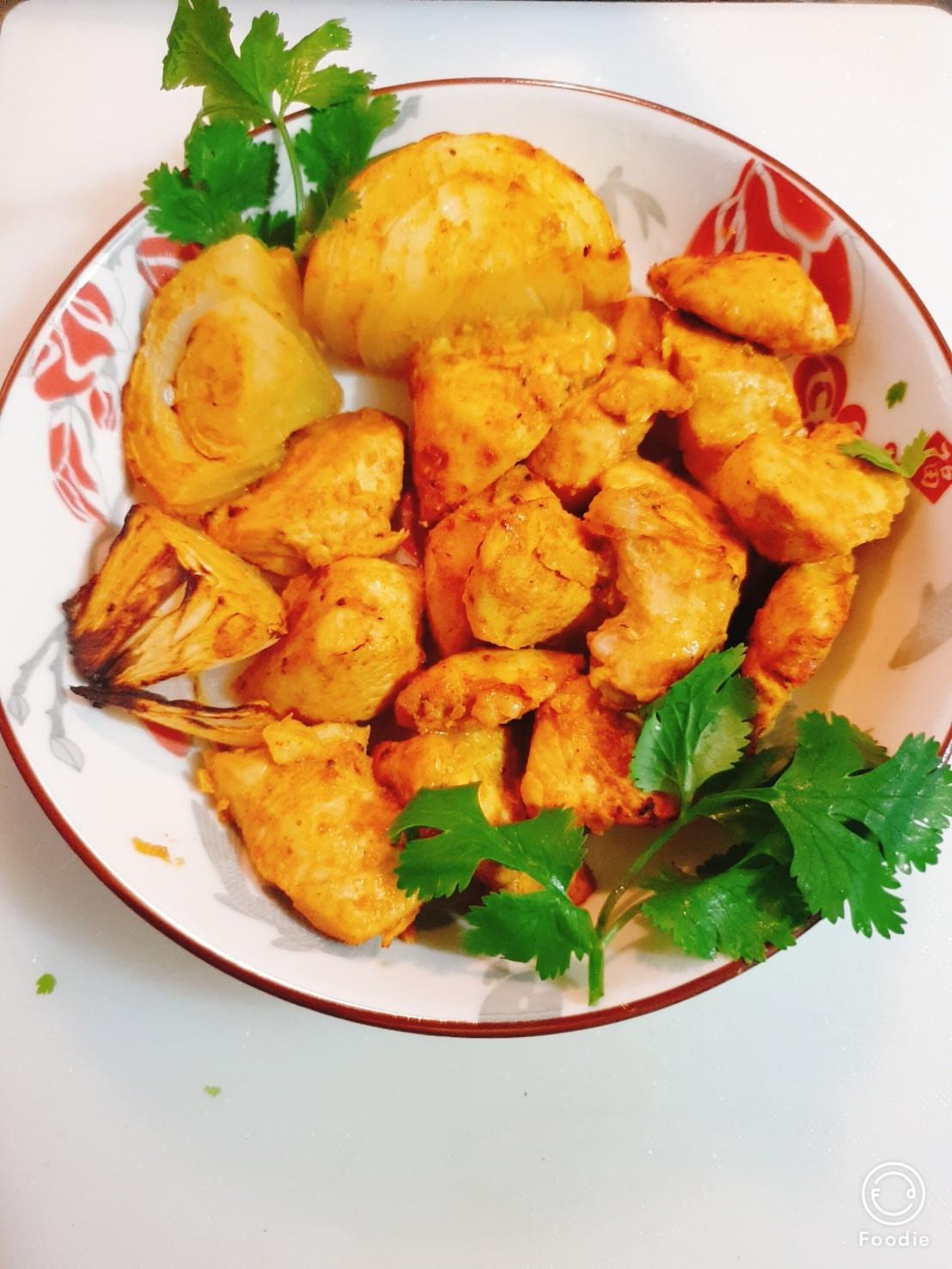 坦都里烤雞(簡易版)