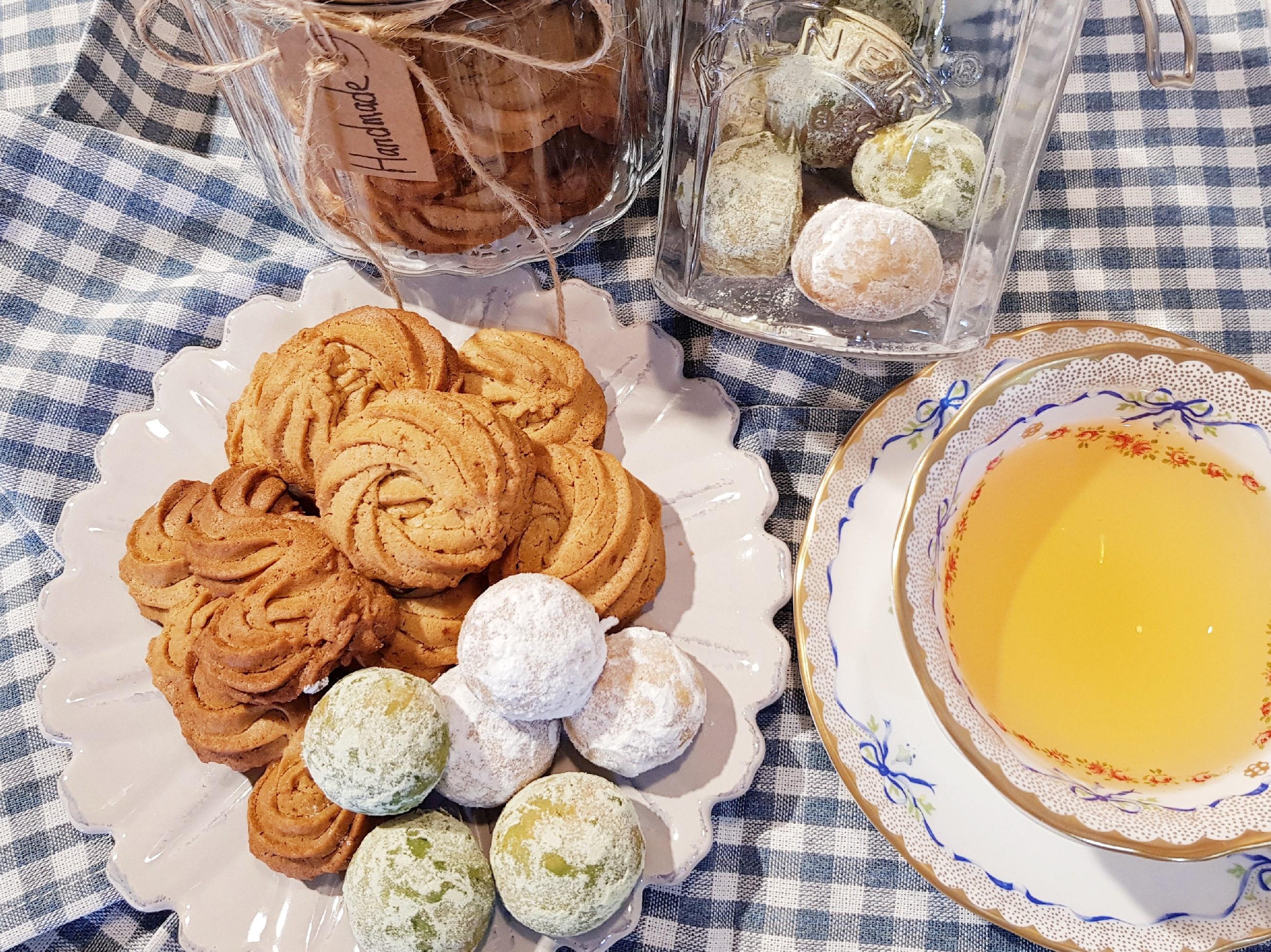 椰糖珍妮曲奇&雪球餅乾