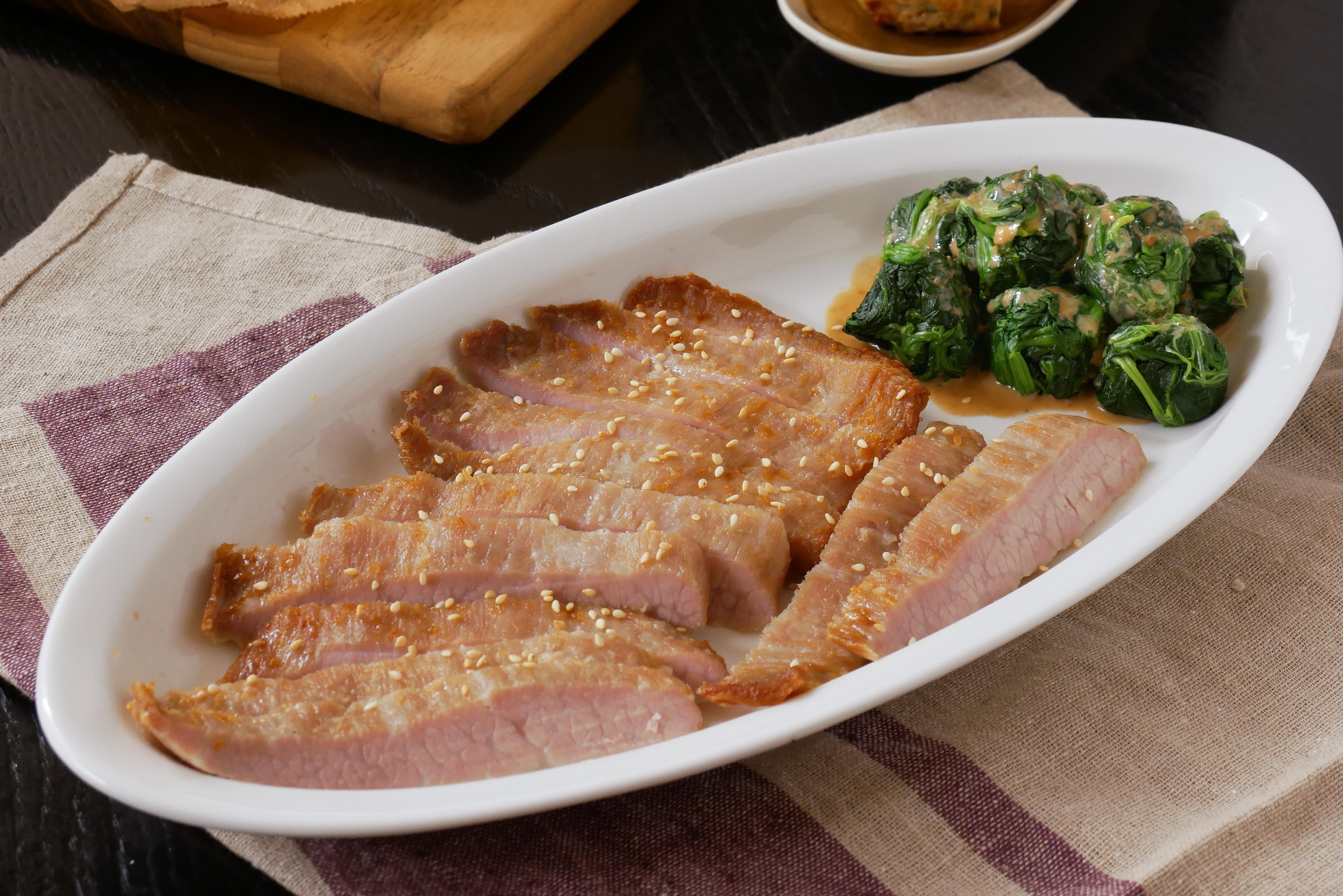 松阪豬麻醬菠菜GREEN & SAFE
