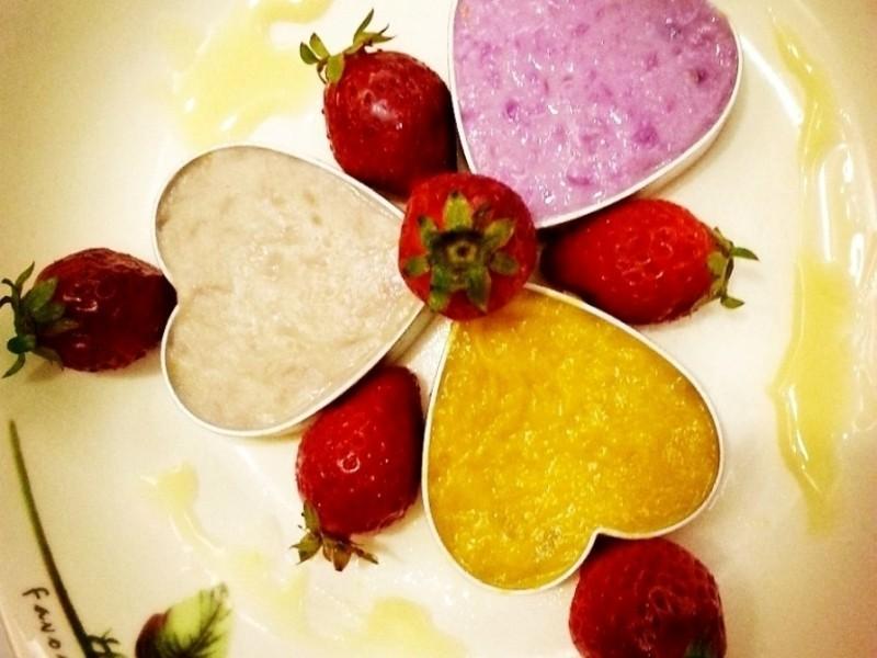 <草莓就愛鷹牌煉奶> 之 甜蜜三心莓