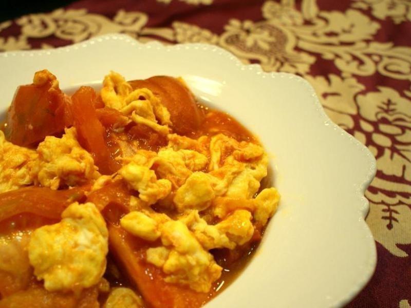 番茄炒蛋(家常菜)