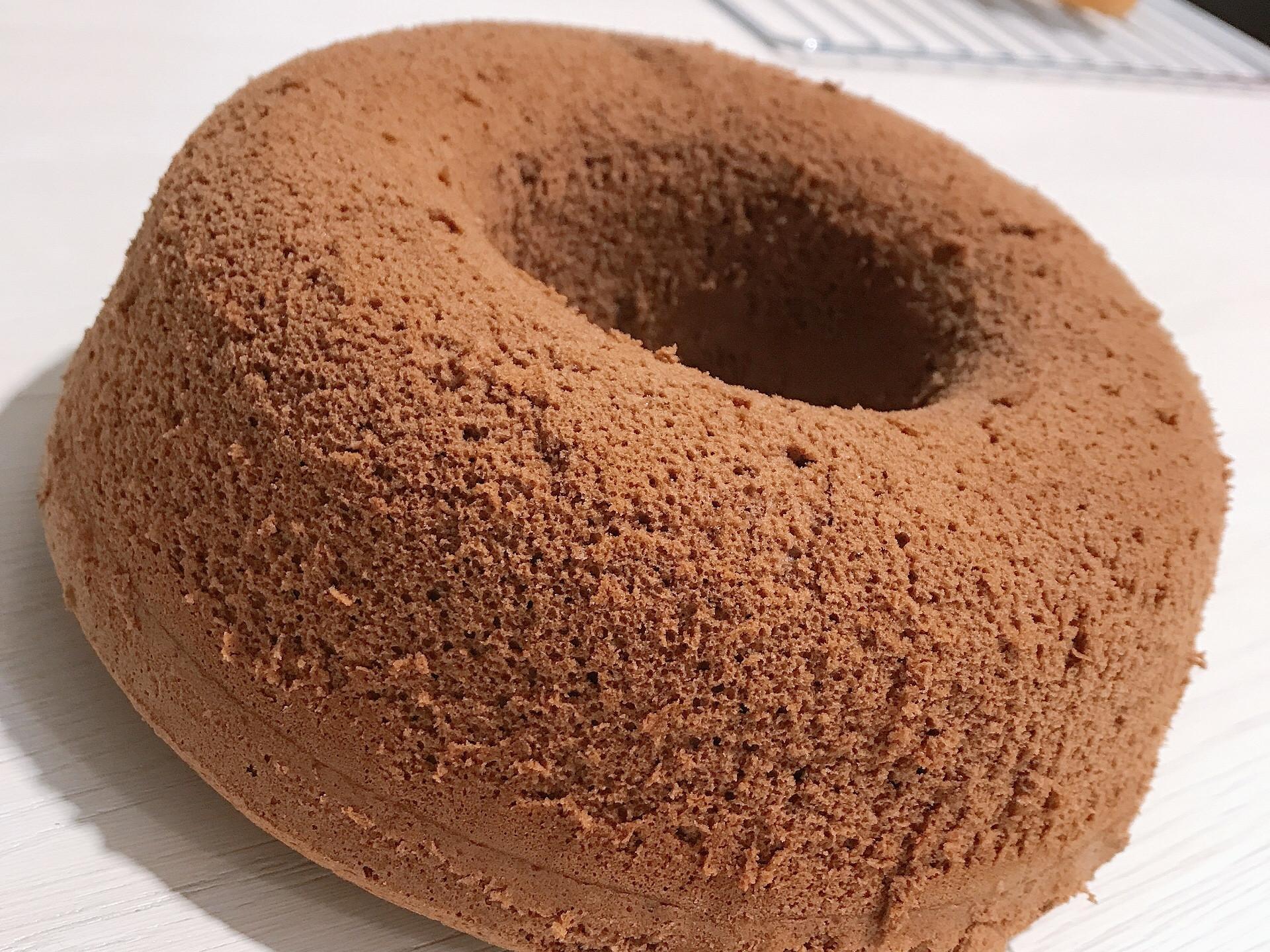 可可戚風蛋糕(8吋烤模)