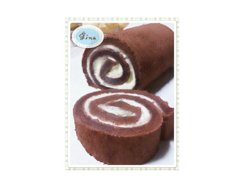 戚風蛋糕捲(巧克力)
