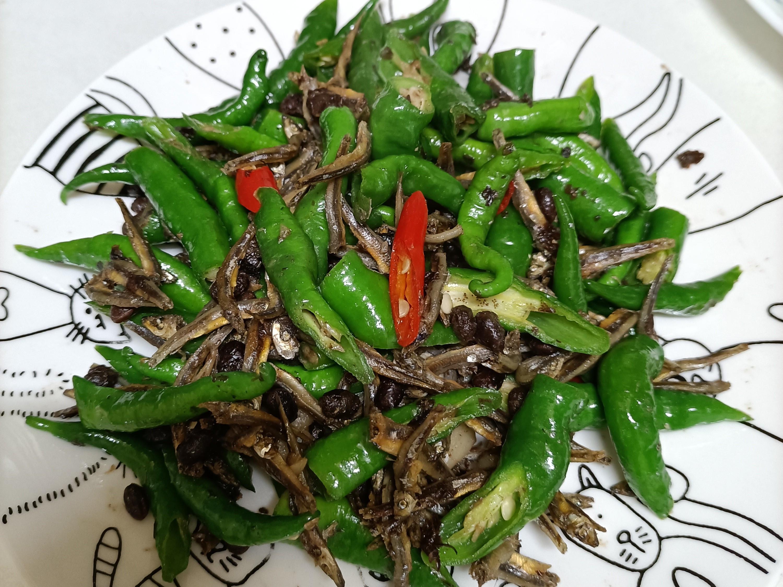 糯米椒小魚乾