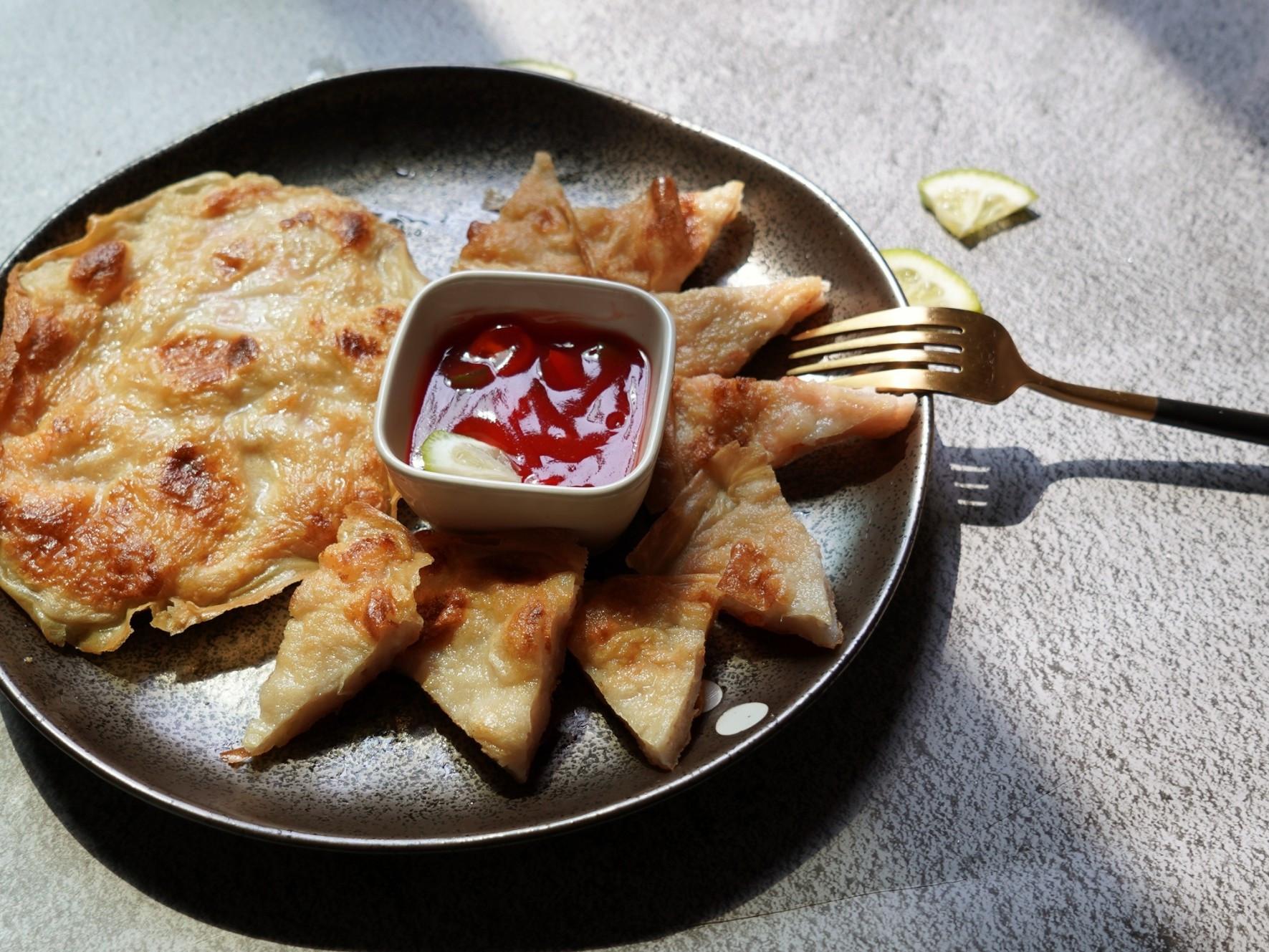 【零失敗】千張月亮蝦餅 減醣酥脆內嫩好吃