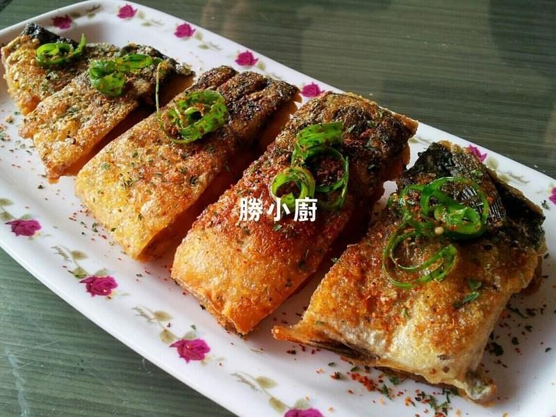 香煎薄鹽鲭魚