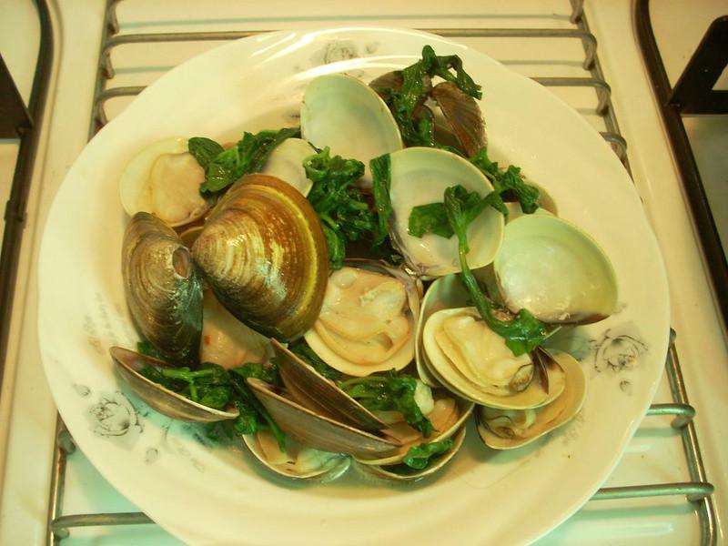 健康廚房10分鐘出年菜~塔香蛤蜊