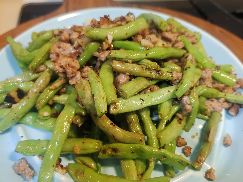 超簡單乾扁四季豆