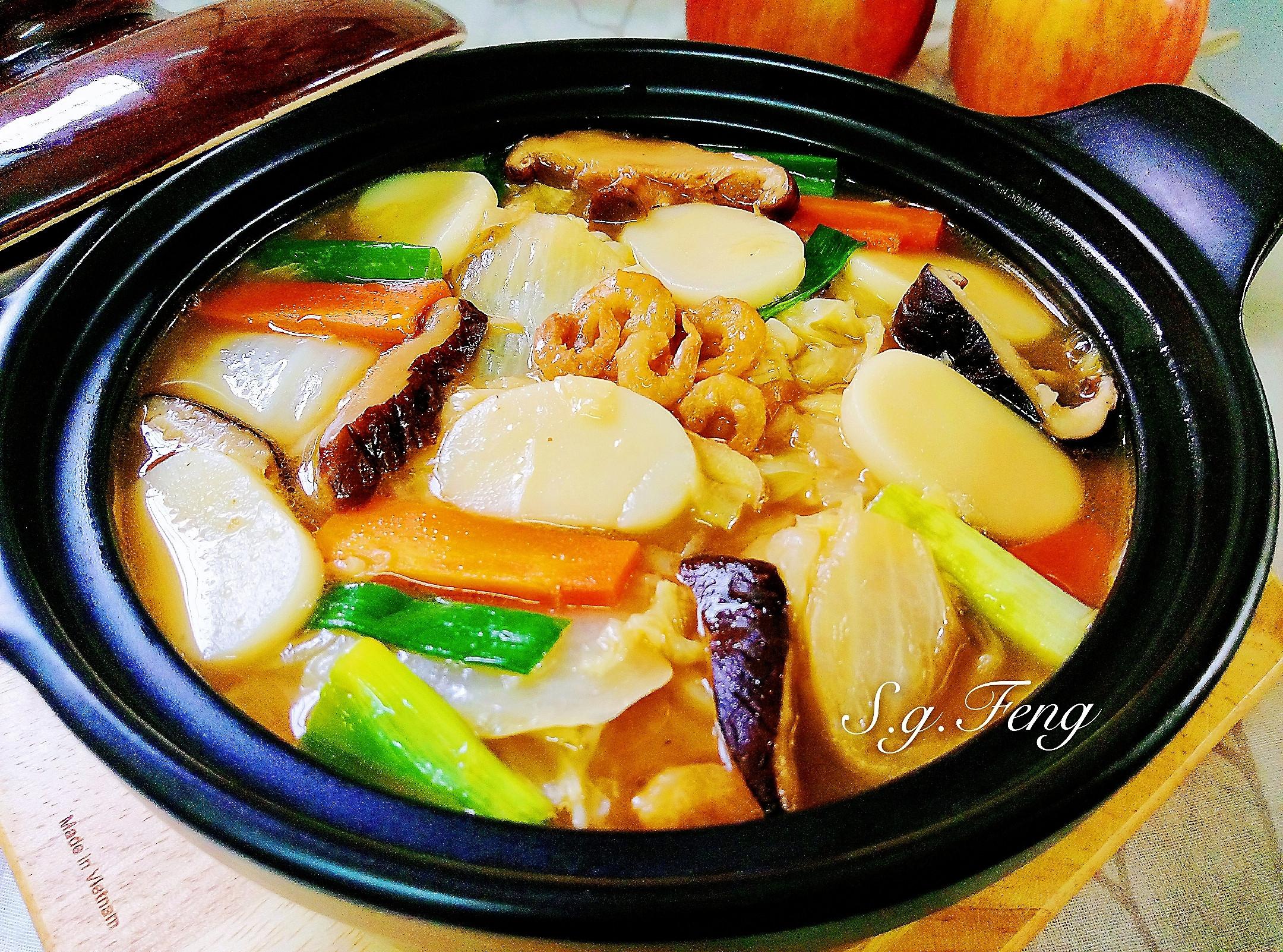 開陽白菜煨年糕