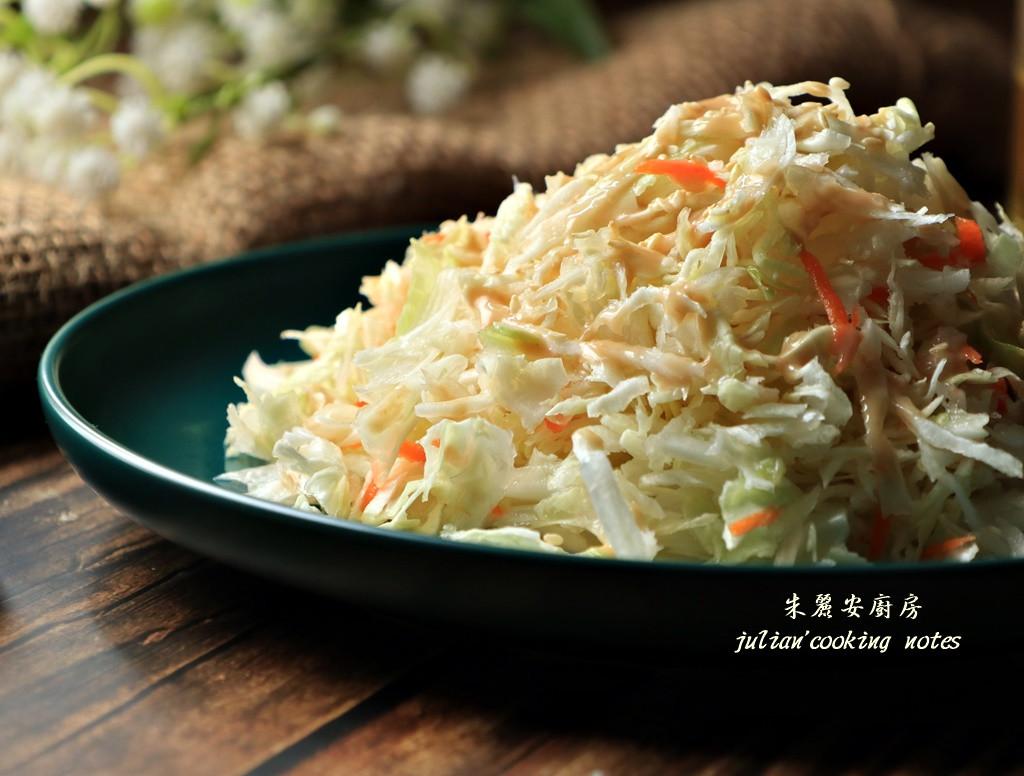 [高麗菜絲沙拉]用一物輕鬆切出蓬鬆菜絲