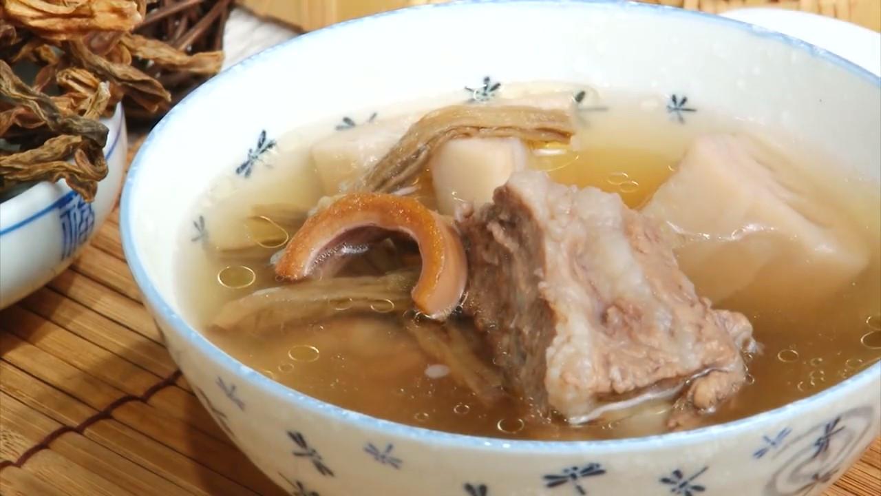 長豆蓮藕排骨湯