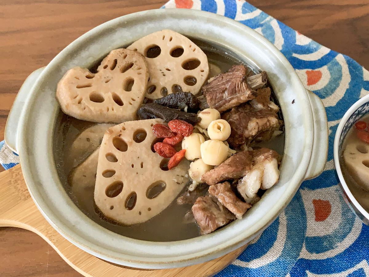 老菜脯蓮藕排骨湯