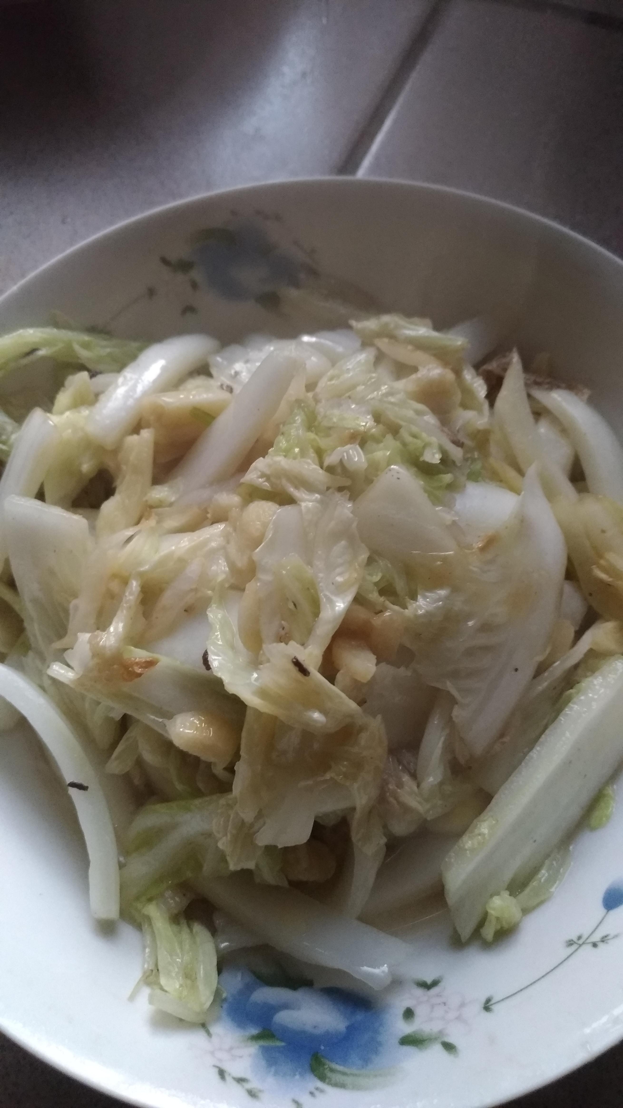蒜炒大白菜