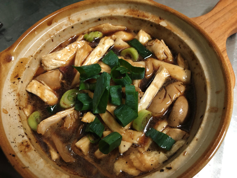簡單做好菜:三杯杏包菇