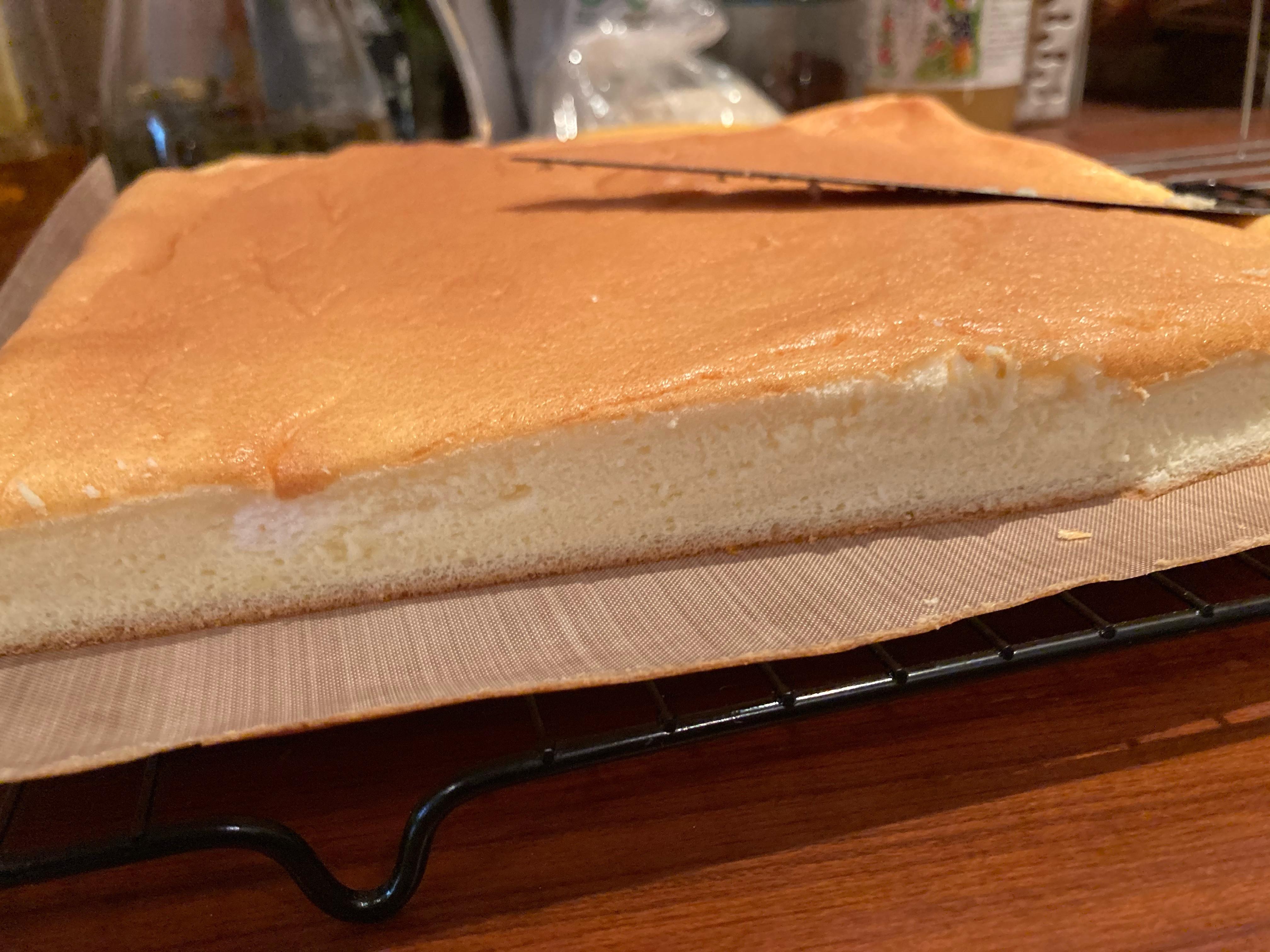 高蛋白起司古早味蛋糕